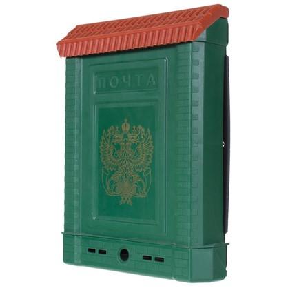Ящик почтовый Премиум внутренний цвет зелёный цена