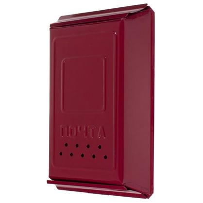 Ящик почтовый с замком цвет вишня цена