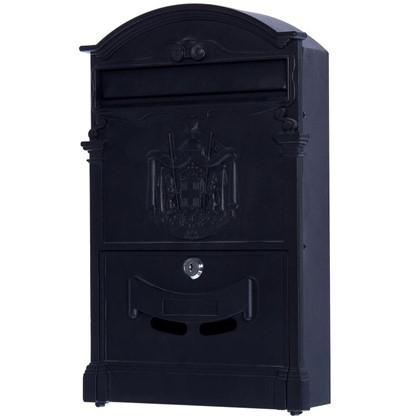 Ящик почтовый Standers MB-002 алюминий/сталь цвет чёрный цена