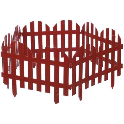 Забор декоративный №4 3 м цвет терракот цена