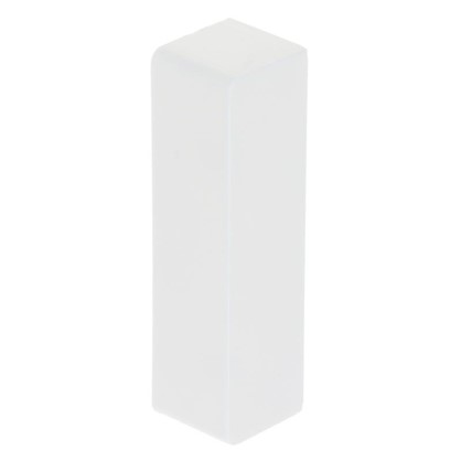 Заглушка 74х20 мм цвет белый 4 шт. цена