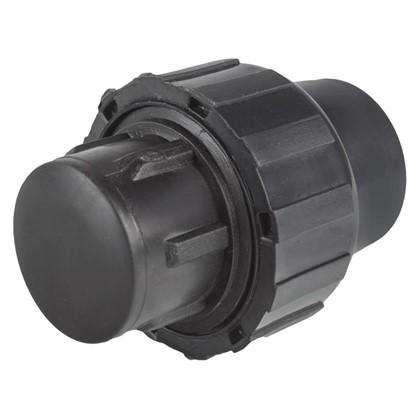 Заглушка цанговая для ПЭ трубы D 20 цена