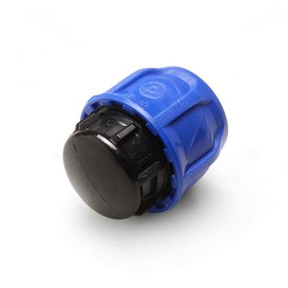 Заглушка цанговая для полиэтиленовой трубы 32 мм полиэтилен