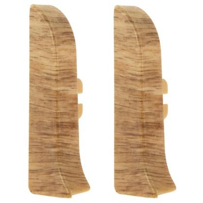 Заглушка для плинтуса левая и правая Artens Гроссето 65 мм 2 шт. цена