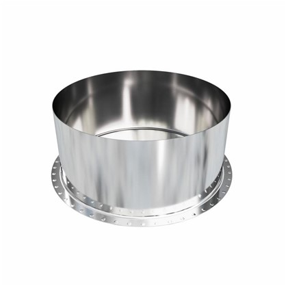 Заглушка нержавеющая глухая 135х0.5 мм нержавеющая сталь