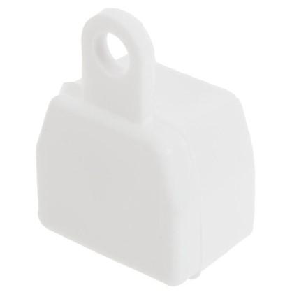 Заглушка U-шины цвет белый 2 шт. цена