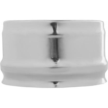 Заглушка внешняя для трубы 430/0.5 мм D110 мм цена