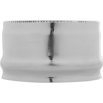 Заглушка ввнешняя для трубы 430/0.5 мм D120 мм