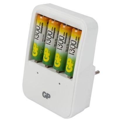 Зарядное устройство GP 420 4 аккумулятора AA 1300 мAh