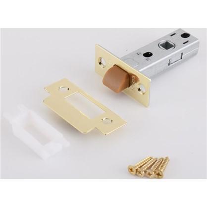 Защелка межкомнатная EDS-6-45 пластик цвет золото