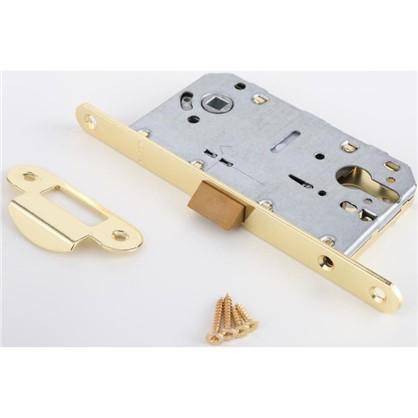 Защелка под цилиндр EDS-50-85 KEY с ключом пластик цвет золото цена