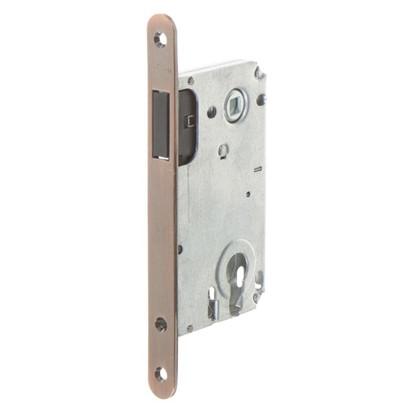 Защелка под цилиндр магнитный EDS-50-85 KEY с ключом цвет медь цена