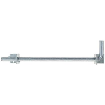 Засов для ворот вертикальный 40x16x400 мм сталь оцинкованная
