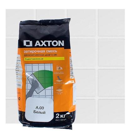 Цементная затирка Axton А.00 2 кг цвет белый цена
