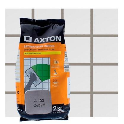 Цементная затирка Axton А.100 2 кг цвет серый цена