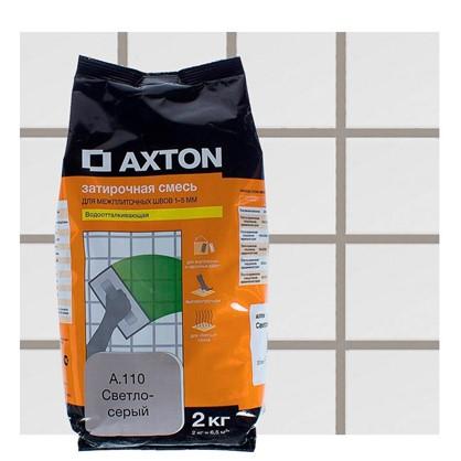 Цементная затирка Axton А.110 2 кг цвет светло-серый цена