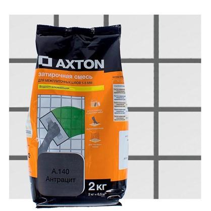 Цементная затирка Axton А.140 2 кг цвет антрацит цена