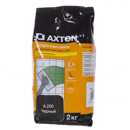 Цементная затирка Axton А.200 2 кг цвет черный цена