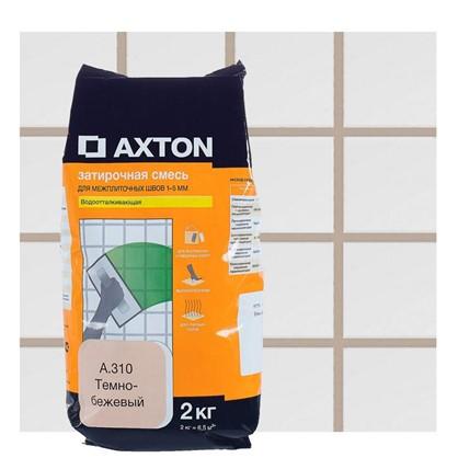 Цементная затирка Axton А.310 2 кг цвет темно-бежевый