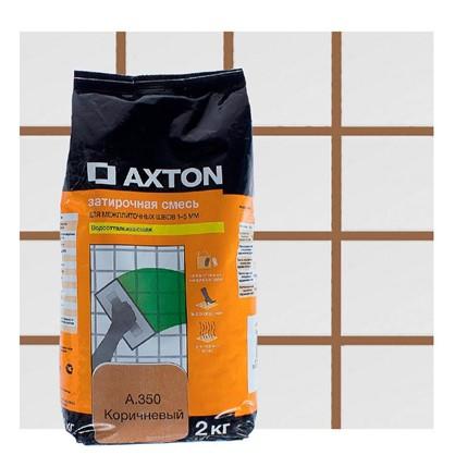 Цементная затирка Axton А.350 2 кг цвет коричневый цена