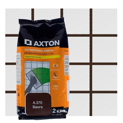 Цементная затирка Axton А.370 2 кг цвет венге цена