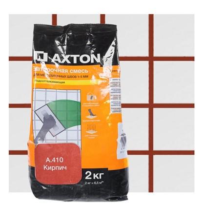 Цементная затирка Axton А.410 2 кг цвет кирпич цена