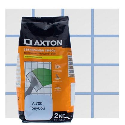 Цементная затирка Axton А.700 2 кг цвет голубой цена