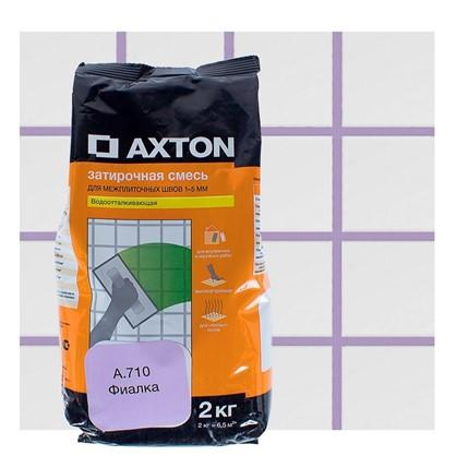 Цементная затирка Axton А.710 2 кг цвет фиалка цена