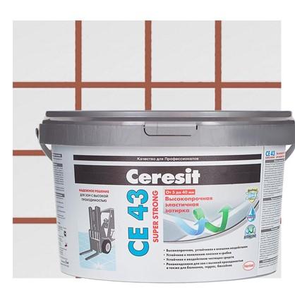 Цементная затирка Ceresit CE 43/2 водоотталкивающая цвет кирпичный цена