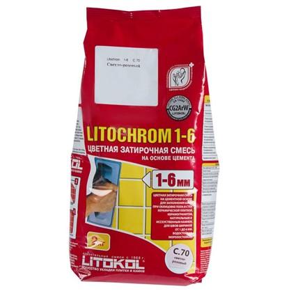 Цементная затирка Litochrom 1-6 С.70 2 кг цвет розовый цена