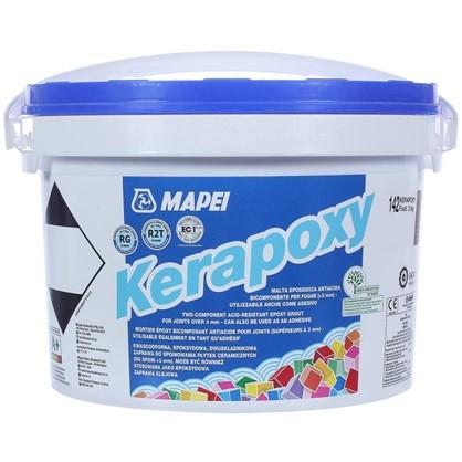 Эпоксидная затирка Kerapoxy N.142 цвет коричневый 2 кг цена