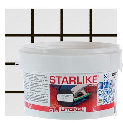 Эпоксидная затирка Litochrom Starlike C240 1 кг цвет чёрный