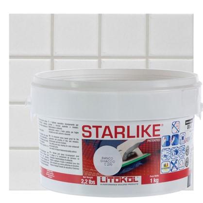 Эпоксидная затирка Litochrom Starlike C270 1 кг цвет белый цена
