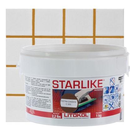 Эпоксидная затирка Litochrom Starlike C300 1 кг цвет коричневый цена
