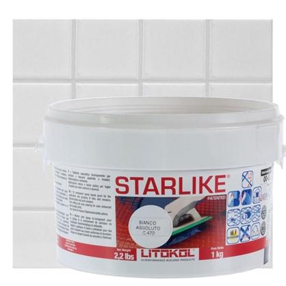 Эпоксидная затирка Litochrom Starlike C470 1 кг цвет белый