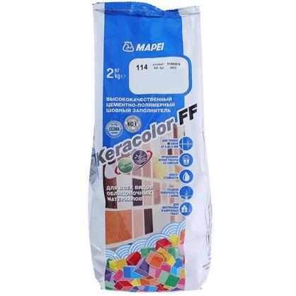 Затирка Keracolor FF цвет антрацит 2 кг цена