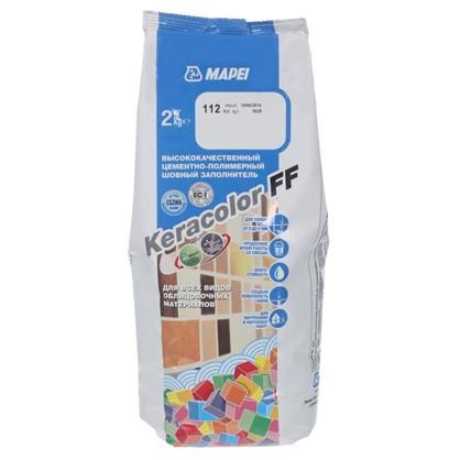 Затирка Keracolor FF цвет серый 2 кг цена