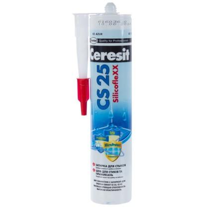 Силиконовая затирка Ceresit CS 25 цвет голубой цена