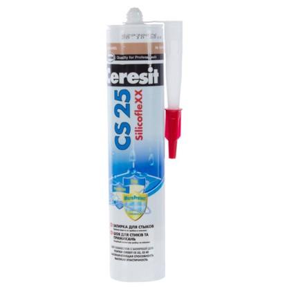 Силиконовая затирка Ceresit CS 25 цвет карамель цена