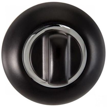 Завертка к ручкам RENZ BIG цвет черный/глянцевый хром цена