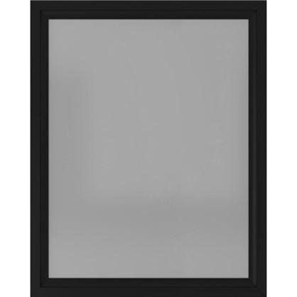 Зеркало 80х100 см цвет чёрный матовый цена
