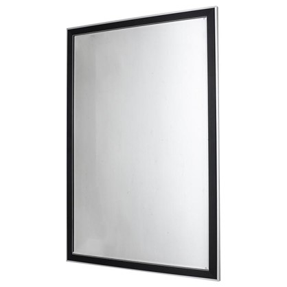 Зеркало без полки 60 см цвет чёрный