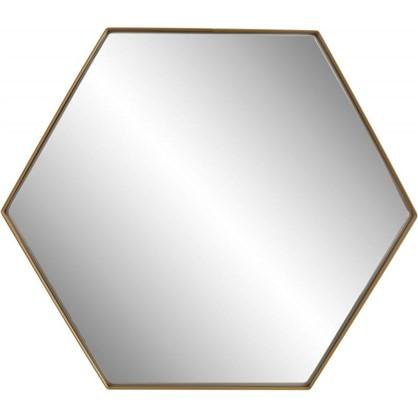 Зеркало Ferro 35х30 см цвет золотой