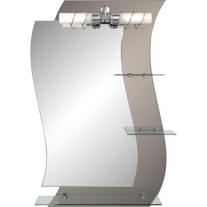Зеркало Кензо с полкой 58 см цена