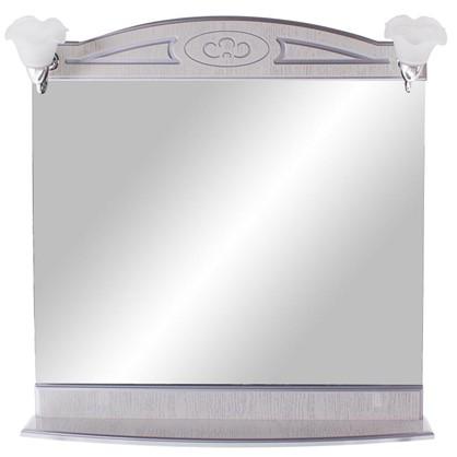 Зеркало Луиза 83 см цвет белое серебро цена