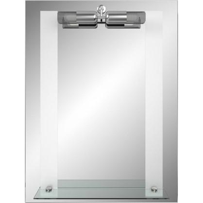 Зеркало Марсель с полкой 55 см цена