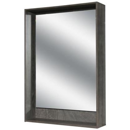 Зеркало с подсветкой Мокка 60 см цвет дуб серый