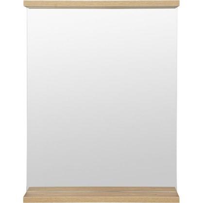 Зеркало Симпл 60 см цвет швейцарский вяз цена