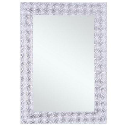 Зеркало в раме Мозаика 50х70 см цвет белый цена