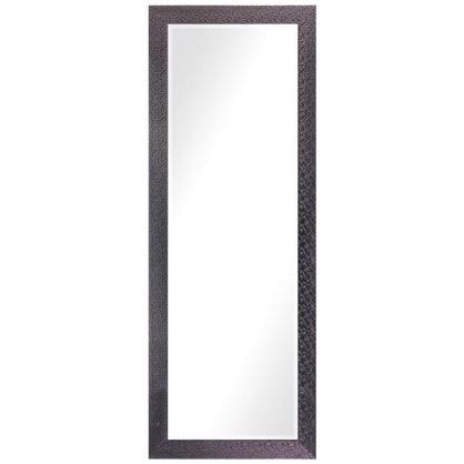 Зеркало в раме Мозаика 60х160 см цвет черный цена